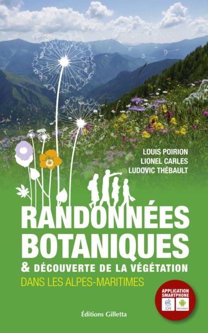 Louis Poirion-Lionel Carles-Ludovic Thébault-Couverture Randonnées Botaniques