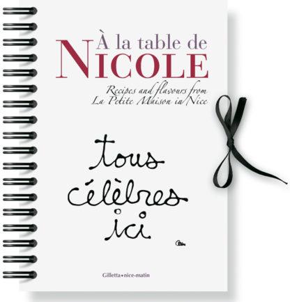 Jacques Gantié et Nicole Rubi - Patrice Lapoirie-Couverture A la table de Nicole Anglais