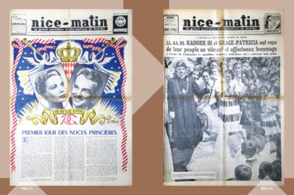 Feuilletage-100-unes-noces-princieres-1956