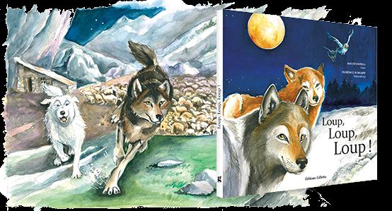 Livre Loup, Loup, Loup !