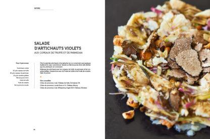 Feuilletage-African-Queen-salade-d-artichauts-violets