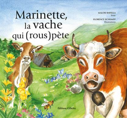 Malou Ravella - Florence Schumpp-Couverture Marinette, la vache qui (rous)pète