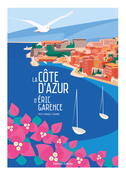 Couverture Eric Garence - La Côte d'Azur