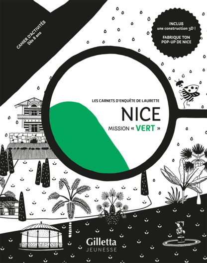 Couv Nice Mission Vert BD Editions Gilletta